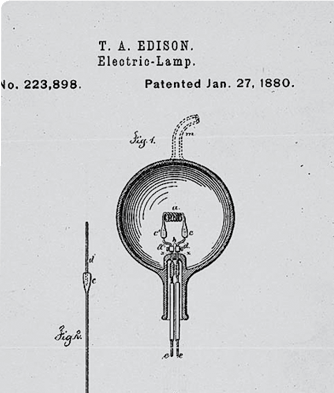 An Image of an electrical lamp
